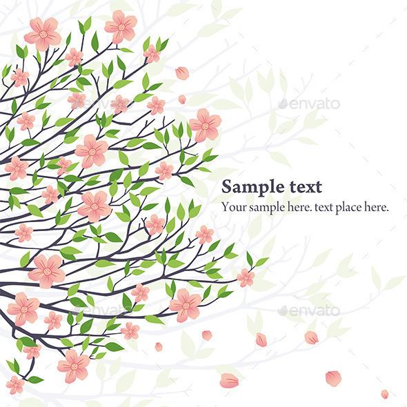 Vector Sakura - Nature Conceptual