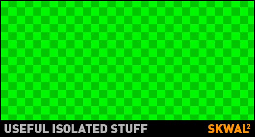 Useful isolated stuff