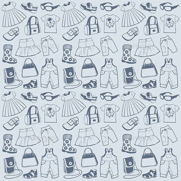 Clothes Pattern - Vectors