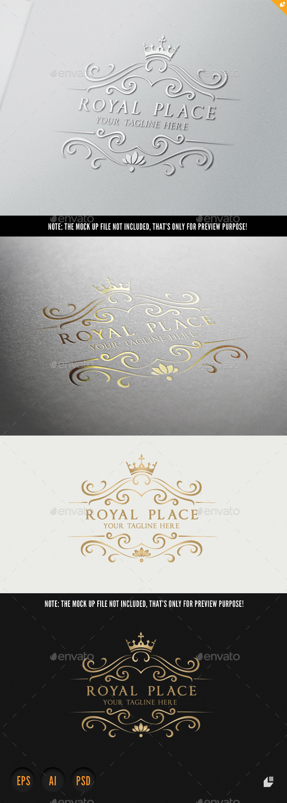 Royal Place - Crests Logo Templates