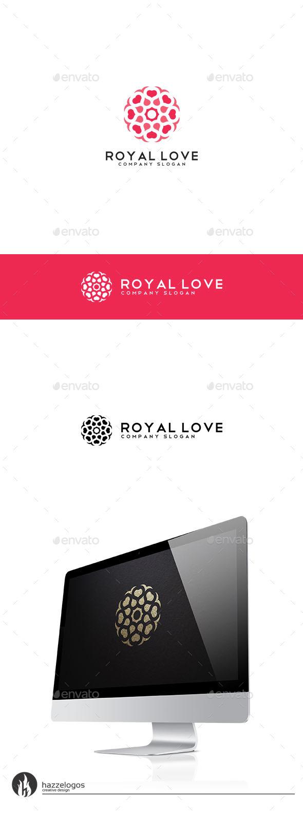 Royal Love Logo - Crests Logo Templates