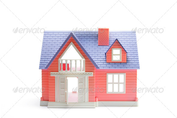 Toy House - Stock Photo - Images