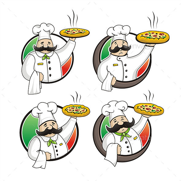 Chef Pizza - Food Objects