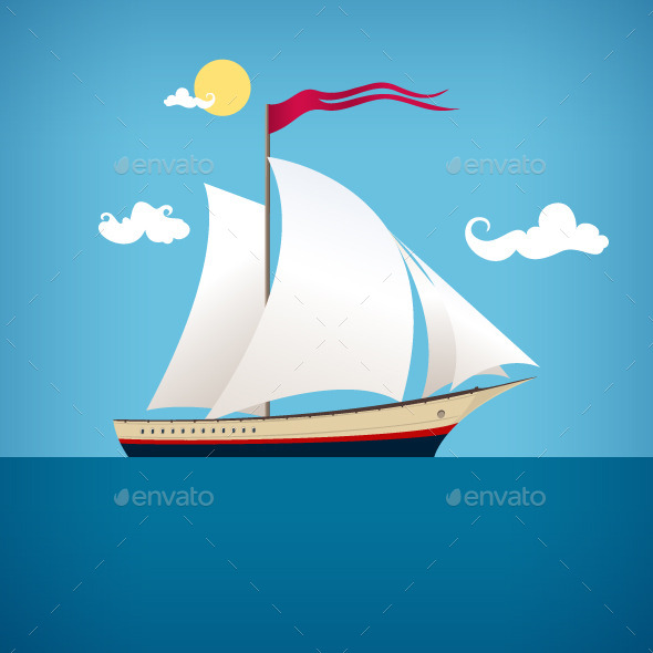 Sailing Vessel - Landscapes Nature