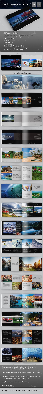 Photo & Portfolio Book - Photo Albums Print Templates