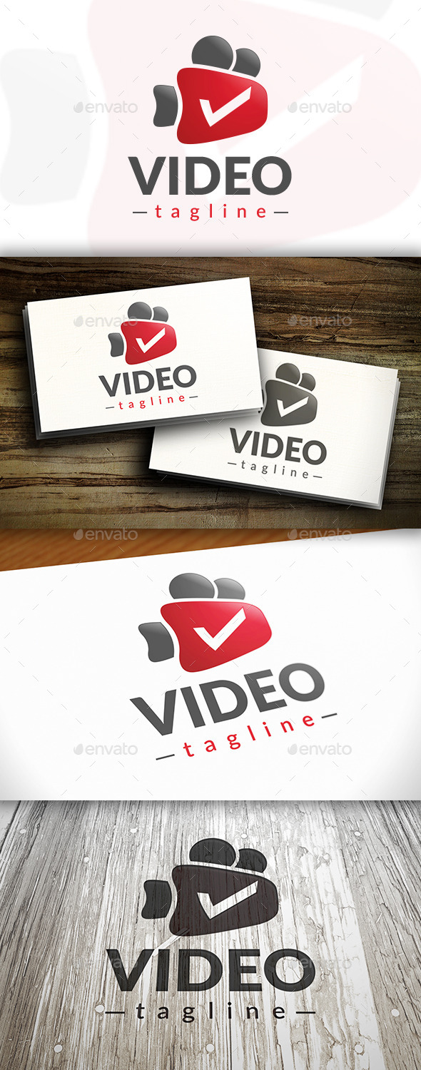 Video Subscribe Logo - Objects Logo Templates