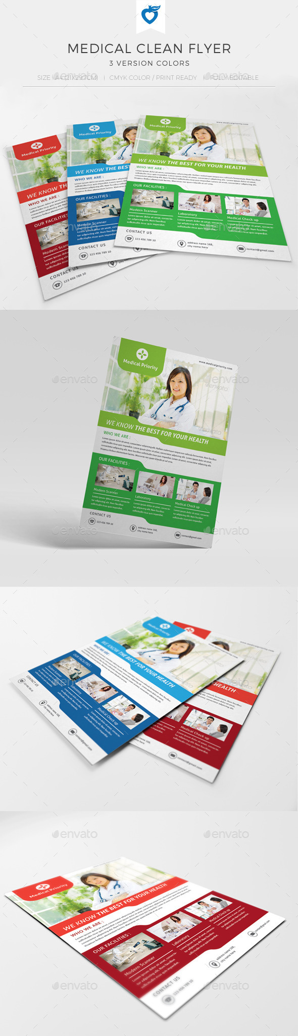 Medical Clean Flyer - Corporate Flyers