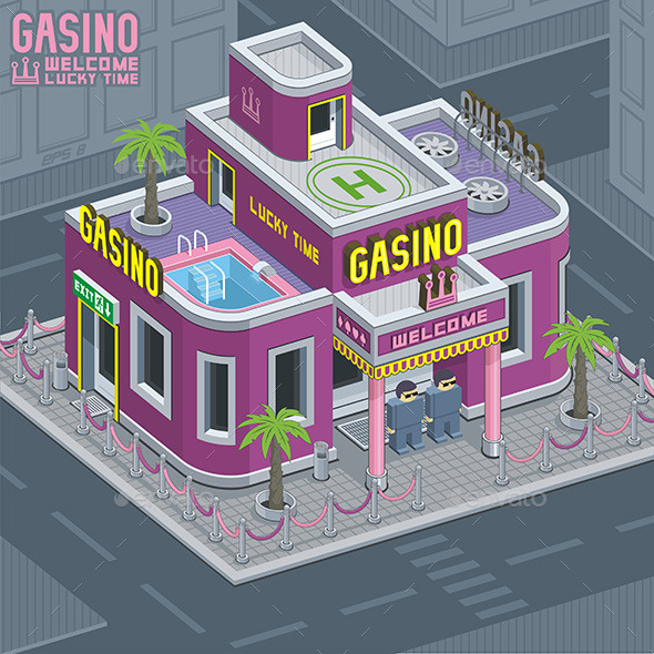 Casino Building - Buildings Objects
