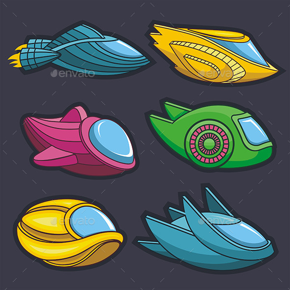 Spacecraft - Vectors