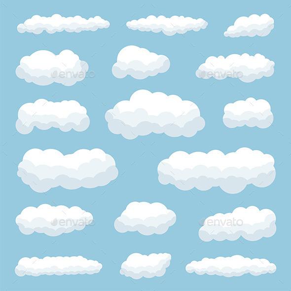 Clouds - Vectors