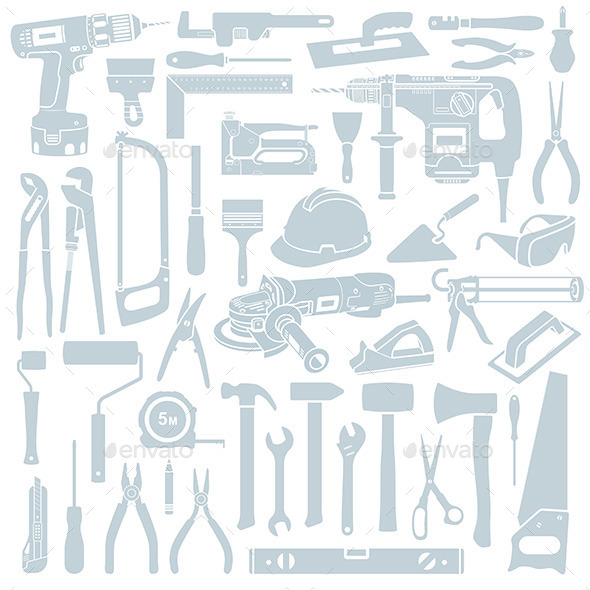 Tools Set - Buildings Objects