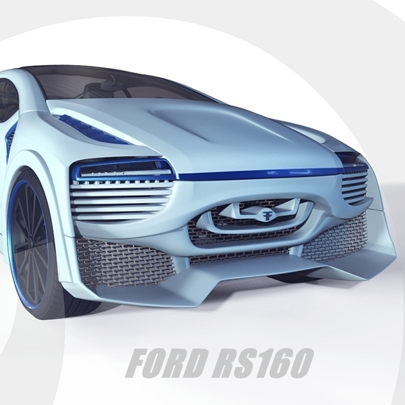 Ford RS160 (concept) - 3DOcean Item for Sale