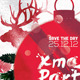 Xmas Night Party Flyer/Poster - GraphicRiver Item for Sale