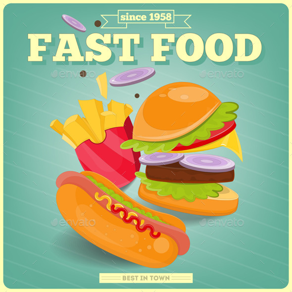 Fast Food - Food Objects