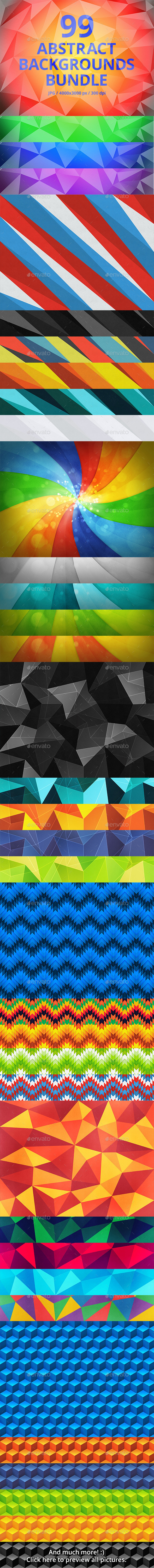 99 Abstract Backgrounds Bundle - Abstract Backgrounds