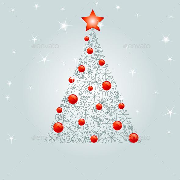 Decorated Christmas Tree - Christmas Seasons/Holidays
