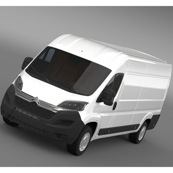 Citroen Relay Van L4H2 2015 - 3DOcean Item for Sale