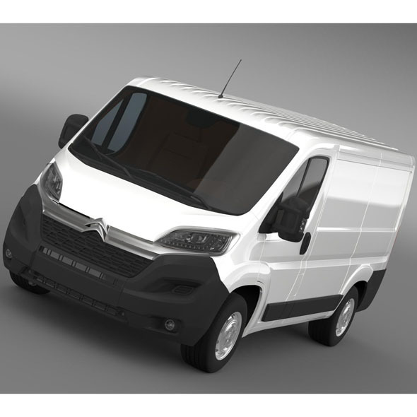 Citroen Jumper Van L1H1 2015 - 3DOcean Item for Sale