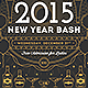 New Year Bash Flyer Template (II) - GraphicRiver Item for Sale