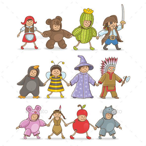 Christmas Costumes Kids - New Year Seasons/Holidays