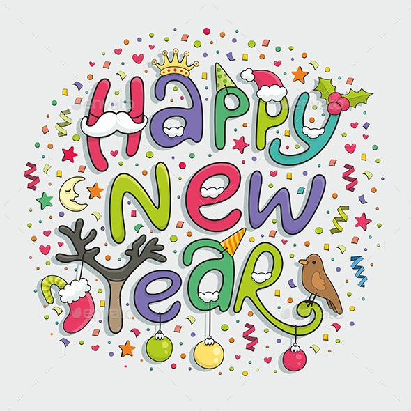 Happy New Year - New Year Seasons/Holidays