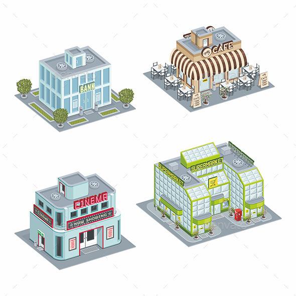 Building Set - Buildings Objects