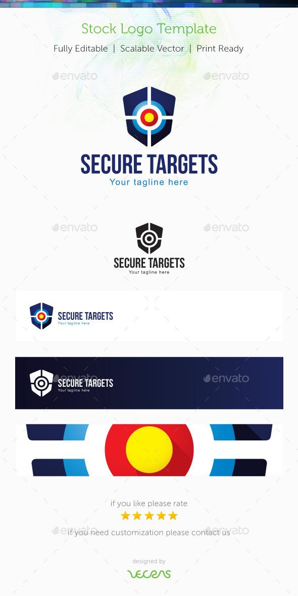 Secure Targets Stock Logo Template - Symbols Logo Templates