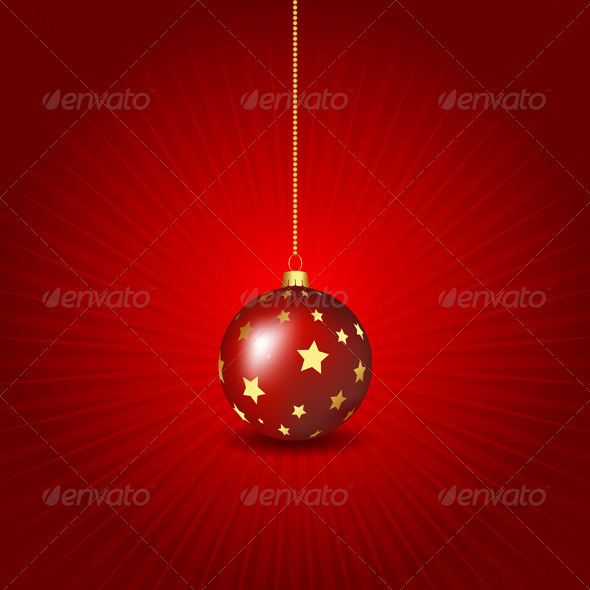 Christmas Bauble Background - Christmas Seasons/Holidays