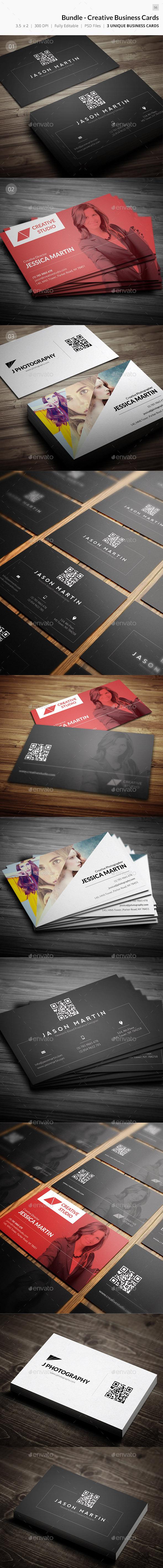 Bundle - Creative Business Card - 56 - Creative Business Cards