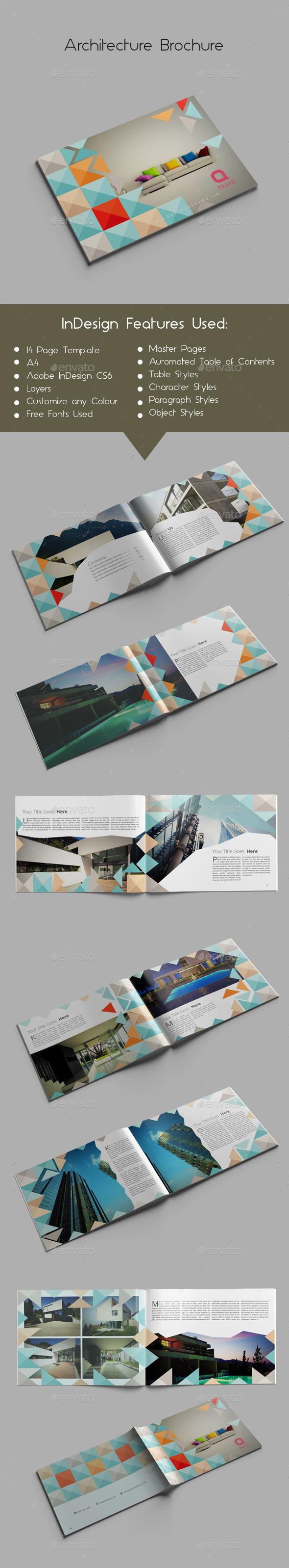 Architecture Brochure - Brochures Print Templates