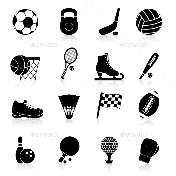 Sport Icons - Web Elements Vectors