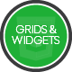 Grids and Widgets - HTML/CSS/JS