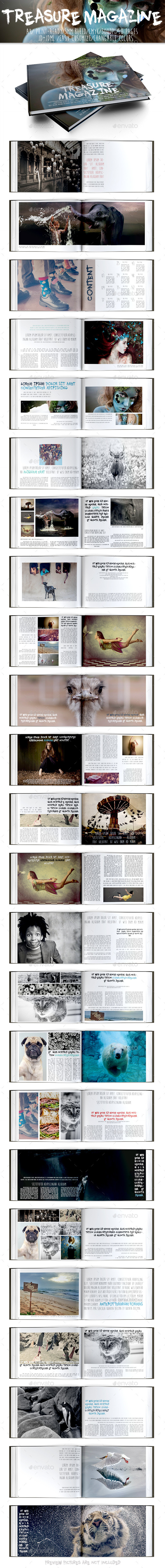 Treasure Magazine - Magazines Print Templates