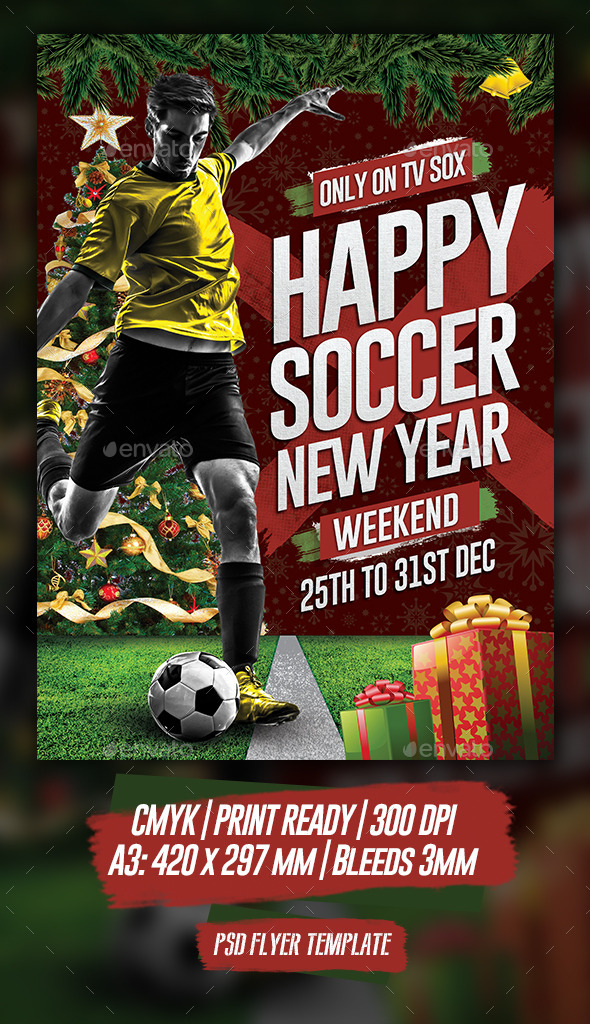 Happy Soccer New Year - Holidays Events