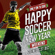 Happy Soccer New Year - GraphicRiver Item for Sale