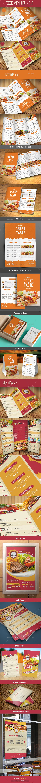 Food Menu Bundle - Food Menus Print Templates