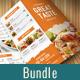 Food Menu Bundle - GraphicRiver Item for Sale