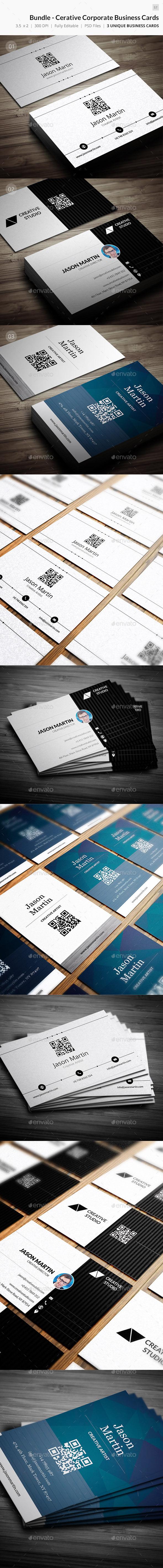 Bundle - Coroporate Business Cards - 57 - Corporate Business Cards