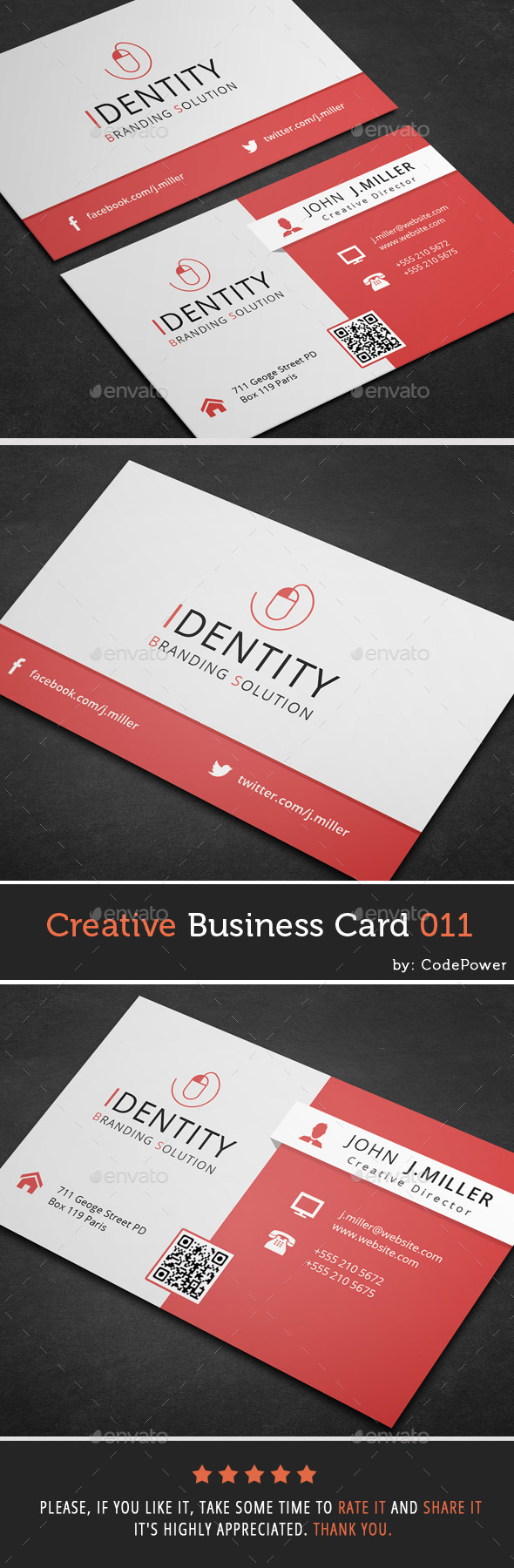 Creative Business Card 011 - Creative Business Cards