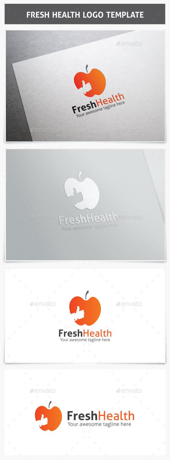 Fresh Health Logo - Food Logo Templates