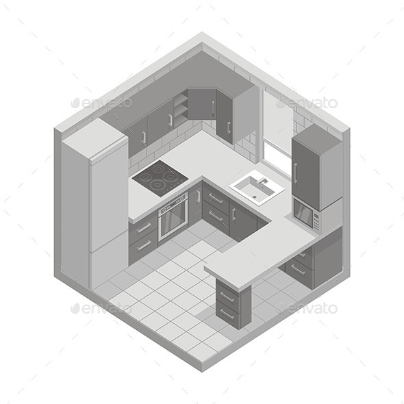 Kitchen - Vectors