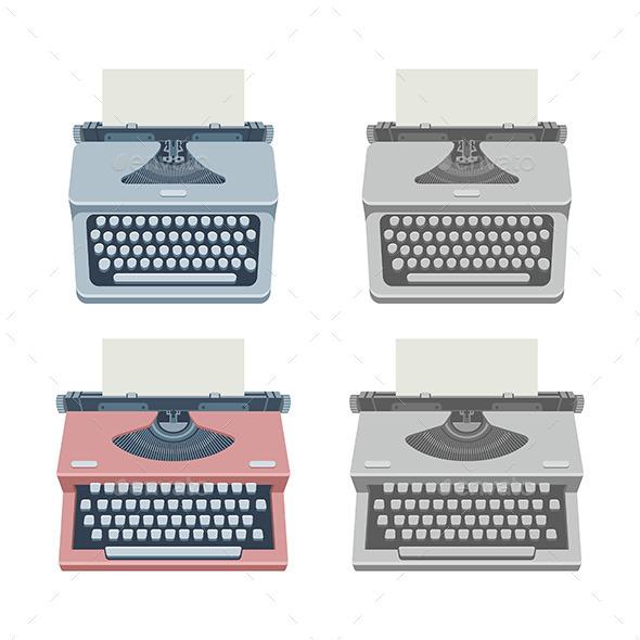 Typewriter - Technology Conceptual