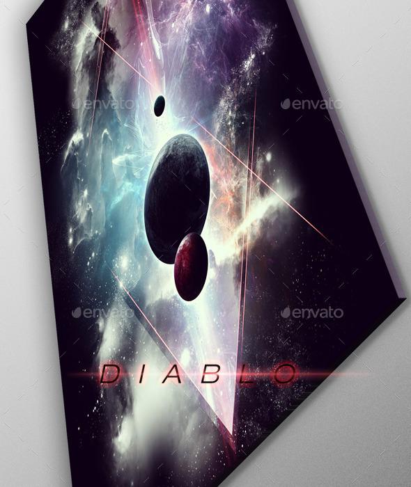 Diablo Space Art - Poster - Graphics