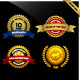 Warranty Guarantee Gold Seal Ribbon Vintage Award - GraphicRiver Item for Sale
