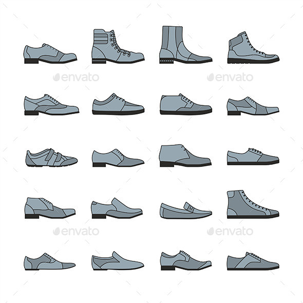 Footwear Icon  - Vectors