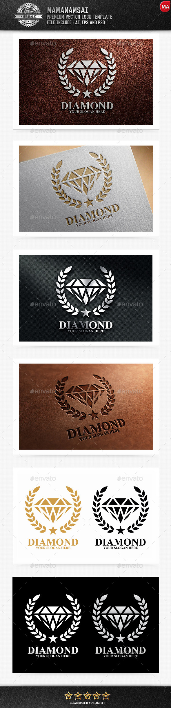 Diamond Logo - Logo Templates