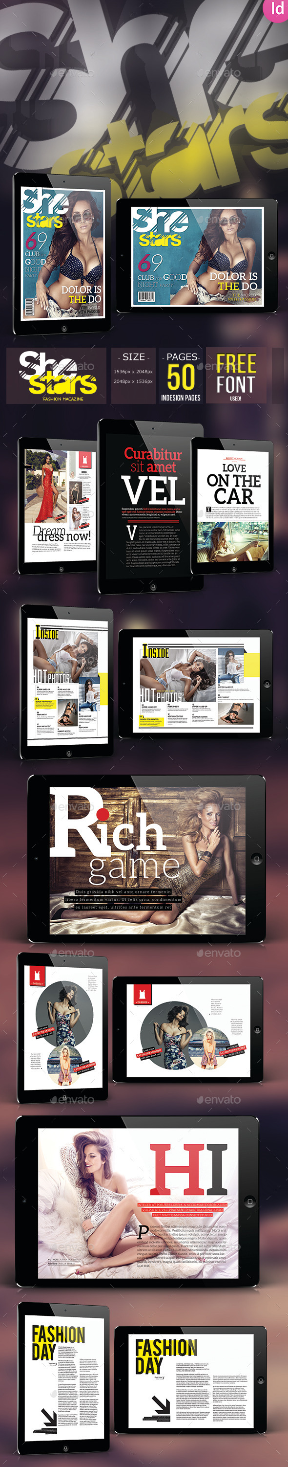 She Star - Fashion Magazine For Tablet - Digital Magazines ePublishing