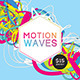 Futuristic Abstract Flyer/Poster - Motion Waves - GraphicRiver Item for Sale
