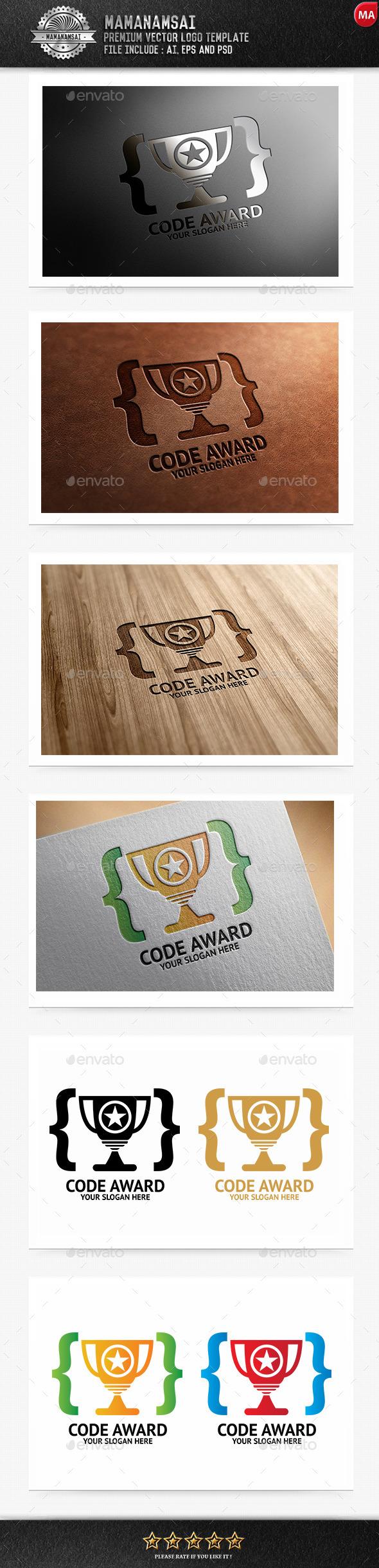 Code Award Logo - Logo Templates