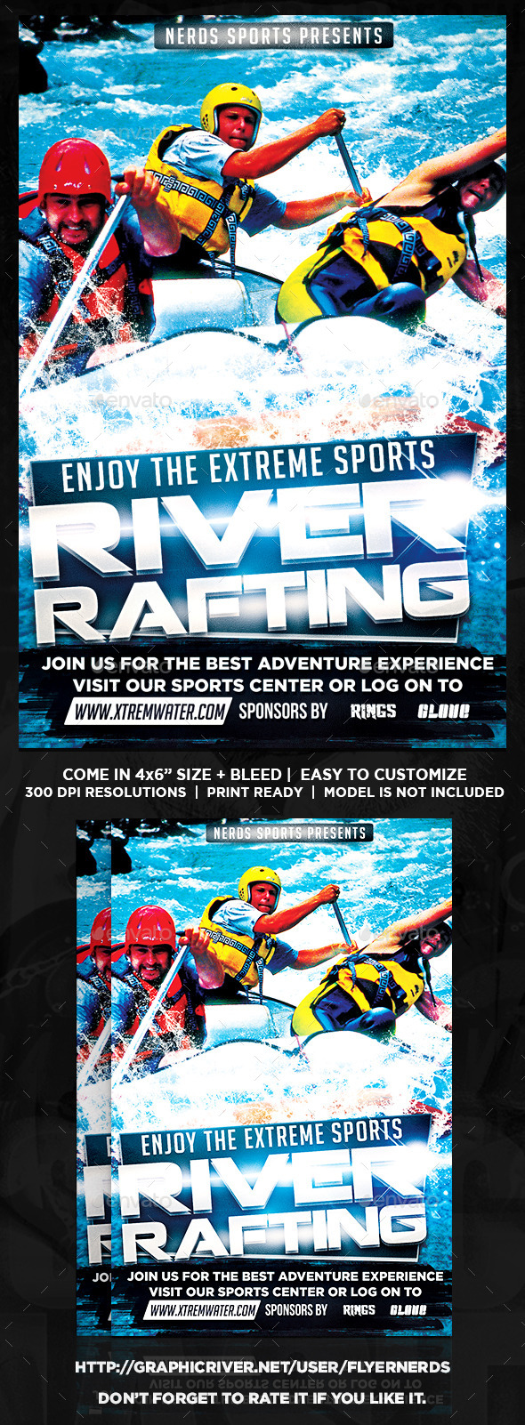 Extreme Water Sports Flyer